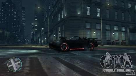 Red Neon  Banshee para GTA 4 traseira esquerda vista