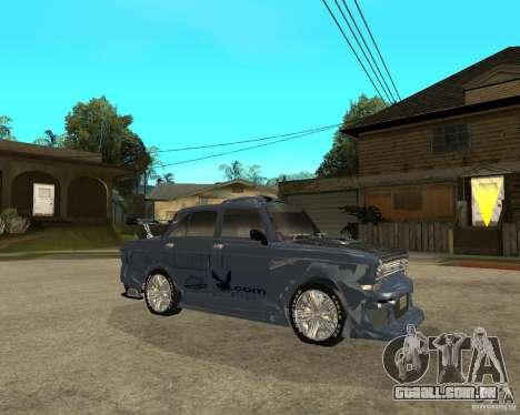 AZLK 2140 SX-sintonizado para GTA San Andreas vista direita