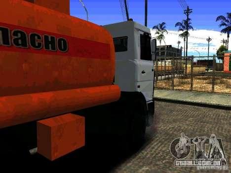 MAZ 533702 caminhão para GTA San Andreas esquerda vista