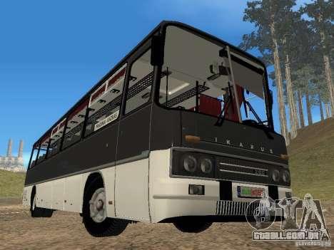 Ikarus Z50 para GTA San Andreas vista traseira