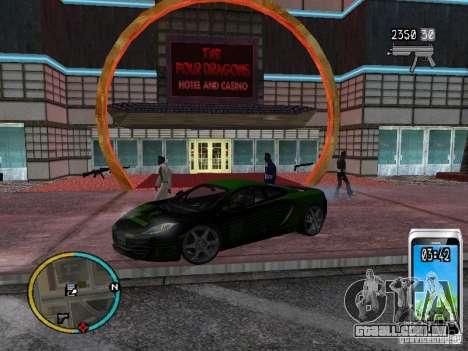 GTA IV HUD v2 by shama123 para GTA San Andreas sexta tela