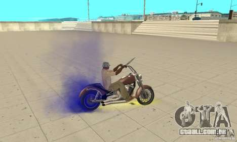 SpecDefekty para GTA San Andreas nono tela