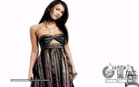 Telas de boot (Megan Fox) HD para GTA San Andreas segunda tela