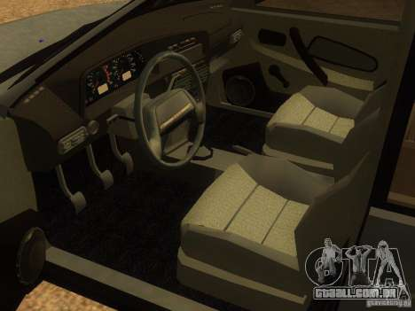 Vaz-2115 para GTA San Andreas vista traseira