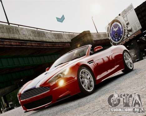 Aston Martin DBS Volante 2010 v1.5 Bonus Version para GTA 4