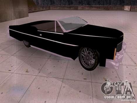 Cadillac Deville 1974 para GTA San Andreas esquerda vista