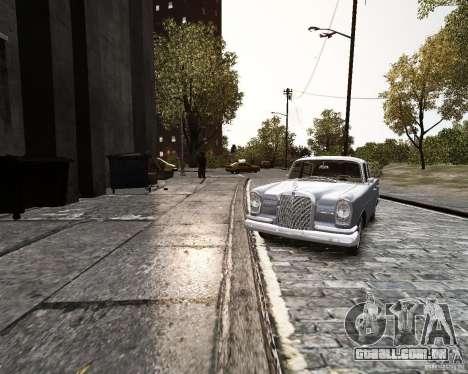 Mercedes-Benz W111 para GTA 4 vista direita