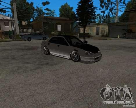 Subaru Impreza (exclusive) para GTA San Andreas
