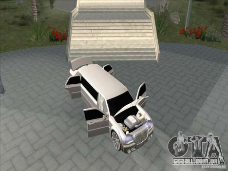 Chrysler 300C Limo para GTA San Andreas vista interior