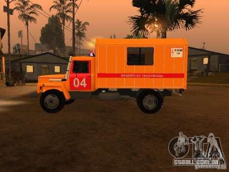 3309 Gaz; para GTA San Andreas esquerda vista
