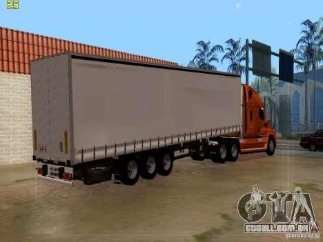 Freightliner Cascadia para GTA San Andreas esquerda vista
