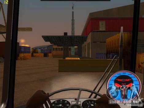 Trólebus LAZ-52522 para GTA San Andreas vista interior