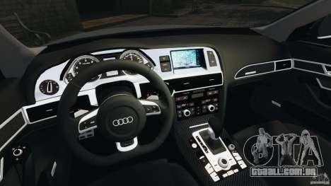 Audi RS6 2010 v1.1 para GTA 4 vista de volta