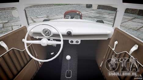Ford Hot Rod 1931 para GTA 4 vista de volta