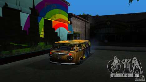 Comb do Bob and Rastaman para GTA San Andreas vista traseira