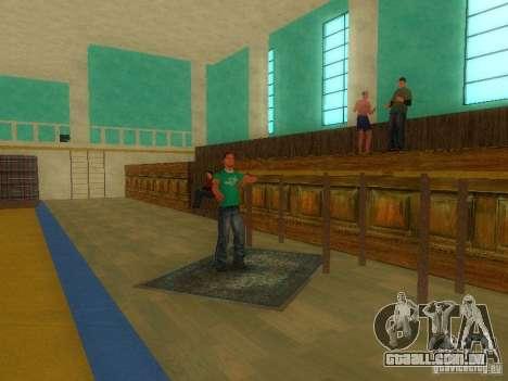 Tricking Gym para GTA San Andreas terceira tela