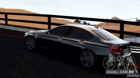 BMW M5 F10 2012 para GTA 4 esquerda vista