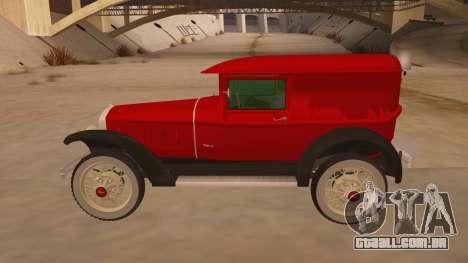 Pearce 1931 para GTA San Andreas esquerda vista