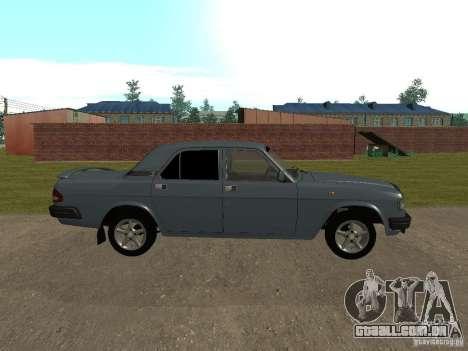 Volga GAZ 3110 para GTA San Andreas esquerda vista