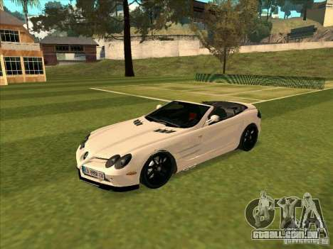 Mercedes-Benz SLR 722 Convertible para GTA San Andreas