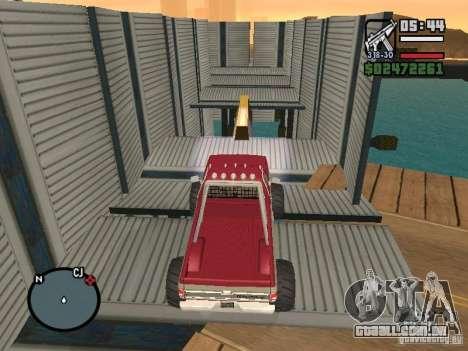 Monster tracks v1.0 para GTA San Andreas sexta tela