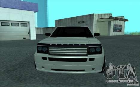 Huntley do GTA 4 para GTA San Andreas vista direita