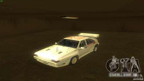 Citroen BX 4TC para GTA San Andreas