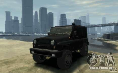 UAZ Hunter final para GTA 4