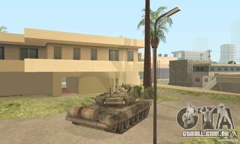 T-90A para GTA San Andreas vista traseira