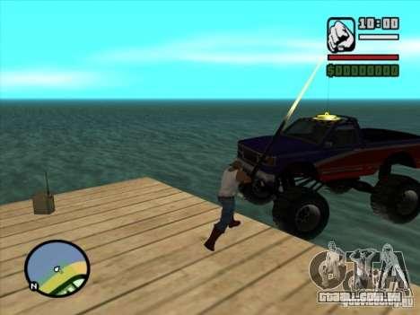 Pesca para GTA San Andreas terceira tela