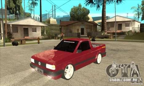 Volkswagen Saveiro Summer para GTA San Andreas