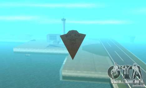 Executor Class Stardestroyer para GTA San Andreas vista direita