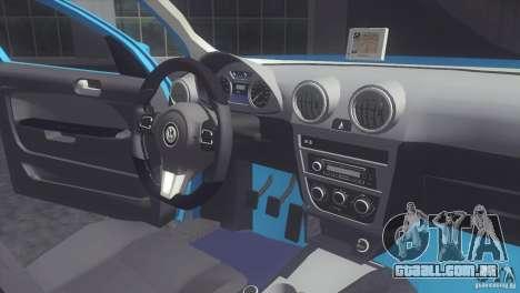 Volkswagen Voyage G6 2013 para GTA San Andreas vista direita