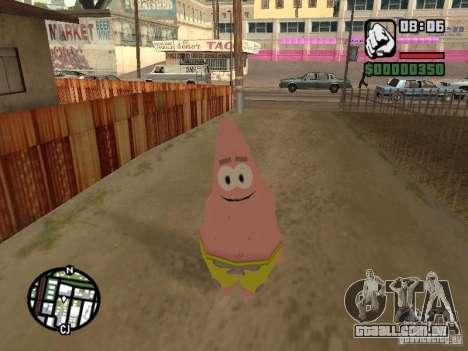 Patrick para GTA San Andreas