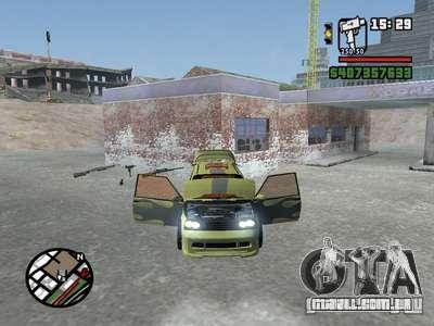 1111 OKA (tuning) para GTA San Andreas esquerda vista