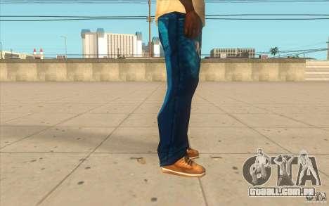 Remix-Evisu-Joker-Burberry Hose para GTA San Andreas por diante tela