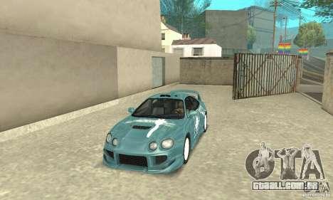 Toyota Celica GT-Four v1.1  1994 para GTA San Andreas