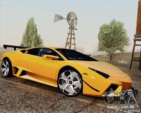 New Carcols para GTA San Andreas por diante tela