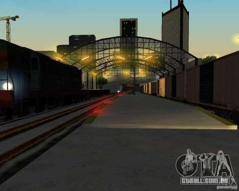 Nova estação ferroviária para GTA San Andreas quinto tela