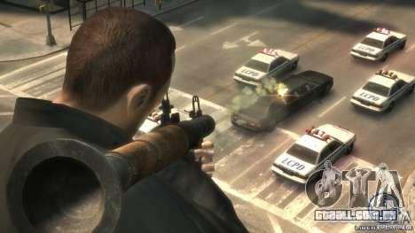 Imagens de inicialização no estilo do GTA IV para GTA San Andreas twelth tela