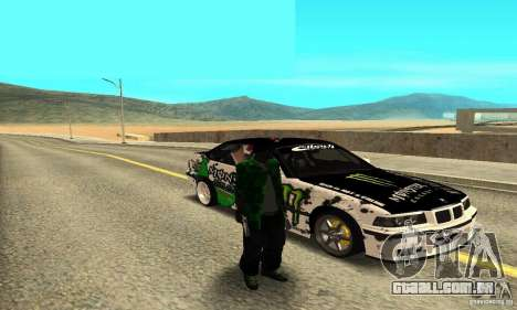 BMW E36 Drift para GTA San Andreas vista direita