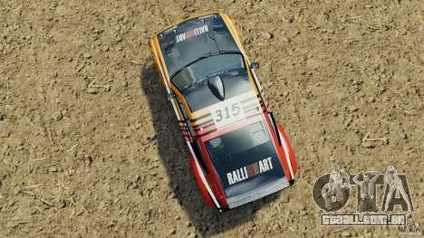 Mitsubishi Pajero Evolution MPR11 para GTA 4 vista direita