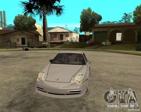 Porsche GT3 para GTA San Andreas vista traseira