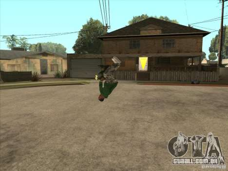 Parkour 40 mod para GTA San Andreas