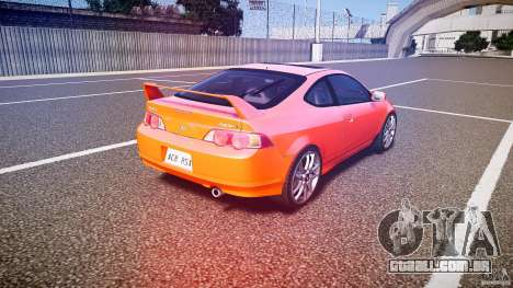 Acura RSX TypeS v1.0 stock para GTA 4 vista lateral