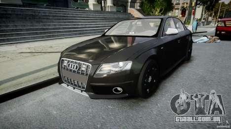 Audi S4 Unmarked [ELS] para GTA 4