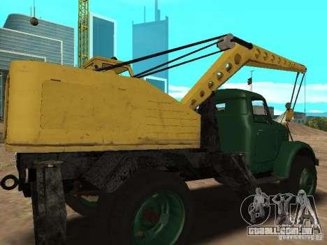 Guindaste móvel de GAZ-51 para GTA San Andreas vista direita