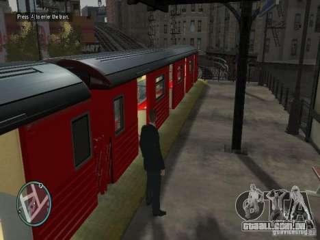 Redbird trem v 1.0 para GTA 4 terceira tela