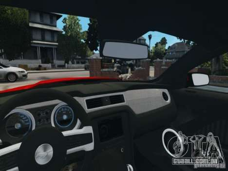 Ford Mustang GT 2011 para GTA 4 vista lateral