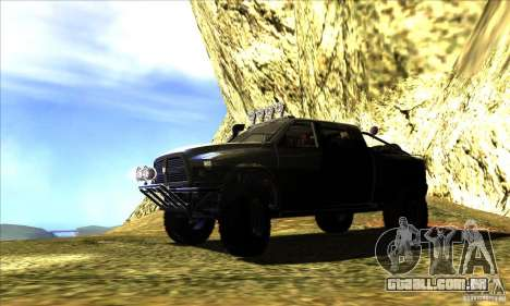Dodge Ram All Terrain Carryer para GTA San Andreas esquerda vista